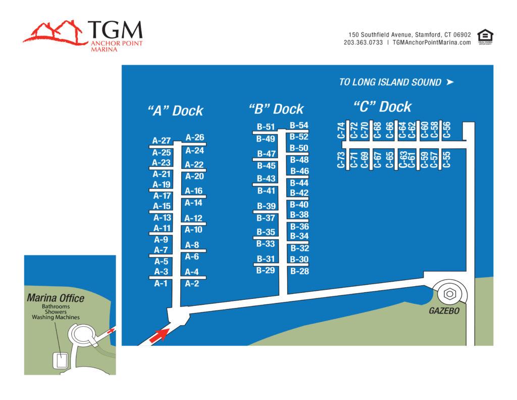 TGM Anchor Point Marina Apartments Map