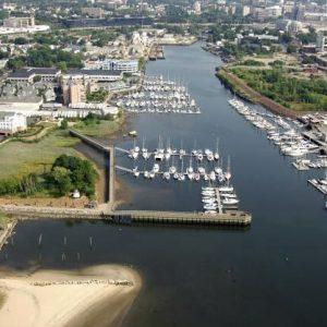 TGM Anchopoint Marina Apartments Aerial View