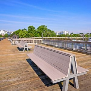 This image shows the long boardwalk upscaling, waterfront lifestyle. It's an ideal place to endure the unending scenery of Harbor.